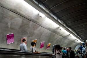Painéis Escada Rolante do Metrô